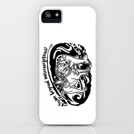 Lexy & Bruce - Swim beyond misconceptions! iPhone Case