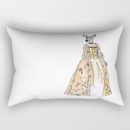 Lady Deer Rectangular Pillow
