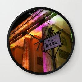 Platz des 18. März Wall Clock