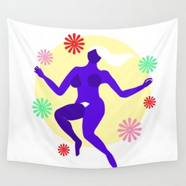 The dancer II Wall Tapestry