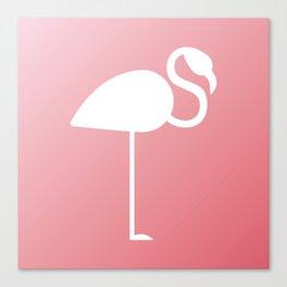 The Flamingo Canvas Print