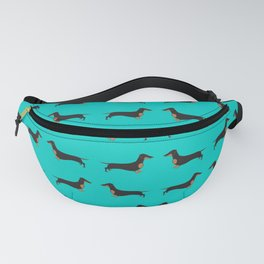 Black and Tan Dachshund Fanny Pack