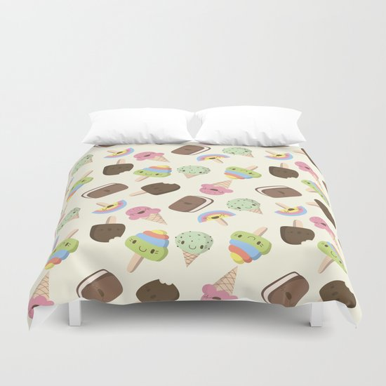 Ice Cream baby!  Duvet Cover