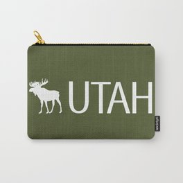 Utah: Moose (Mountain Green) Carry-All Pouch