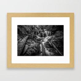 Lower Doyle's River Falls.  Shenandoah National Park, Virginia. Framed Art Print