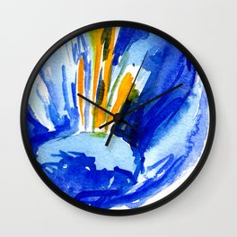 flower IX Wall Clock