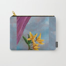 Victorian Forsythia Carry-All Pouch