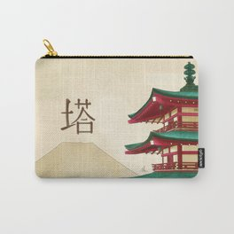 Pagoda - Painting Carry-All Pouch