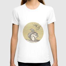 A squirrel T-shirt