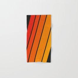 Retro 70s Stripes Hand & Bath Towel