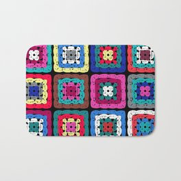 Granny Square Bath Mat