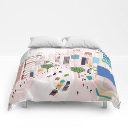 Shibuya 109 Comforters