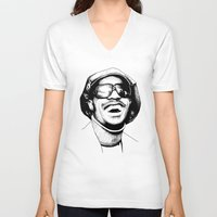stevie nicks V-neck T-shirts featuring Stevie by Danny PiG