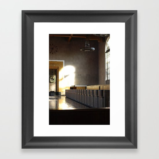 Union Station 1 Framed Art Print
