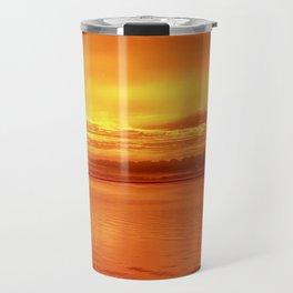 Orange Glow Travel Mug