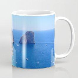 Isle of Capri Coastline Coffee Mug