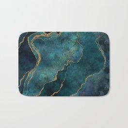 Golden Gemstone Glamour Mineral Bath Mat