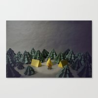 camp Canvas Prints featuring camp by Chelsea Gass