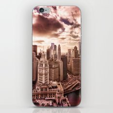 Window over Chicago iPhone & iPod Skin