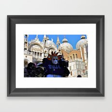 Venetian Mask Framed Art Print