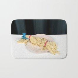 Blond Braid Bath Mat