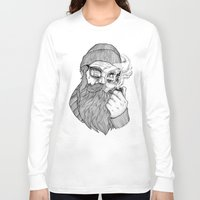 sailor Long Sleeve T-shirts featuring SAILOR by Thiago Bianchini