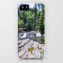 Lower Fall View iPhone Case