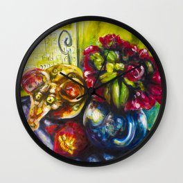 Cunning Shithouse Rat Wall Clock
