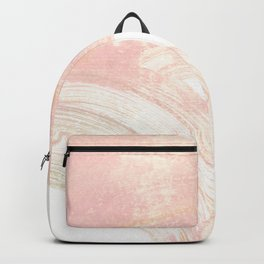 Pink Swipes Backpack