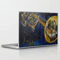 trumpet Laptop & iPad Skins featuring Trumpet by Michael Creese
