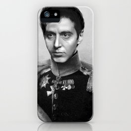 Al Pacino Scar Face General Portrait Painting | Fan Art iPhone Case