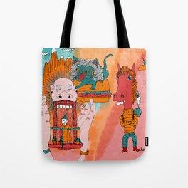 GATO HAMBURGUESA Tote Bag