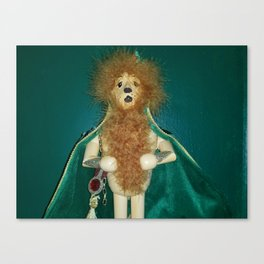 The Cowardly Lion Canvas Print