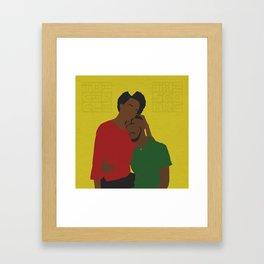 Warm Embrace Framed Art Print