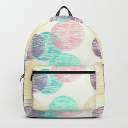 Cosy Circles || 2 Backpack