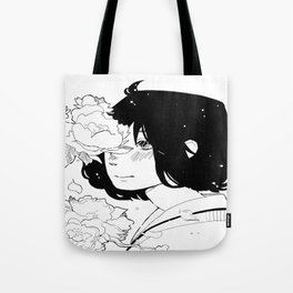 b&w illustration   Tote Bag