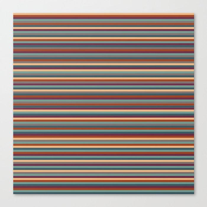 Stripes, Stripes, and More Stripes Leinwanddruck