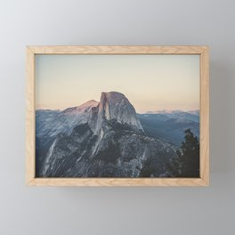Half Dome Framed Mini Art Print