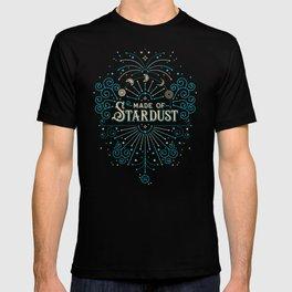 Made of Stardust – Blue & Black Palette T-shirt