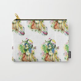 The tropical forest girl Carry-All Pouch