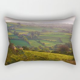 Early Morning Glory Rectangular Pillow