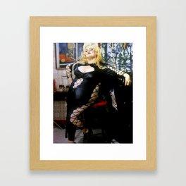 Oh Aunt Ida Framed Art Print