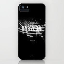 Babylon is falling iPhone Case