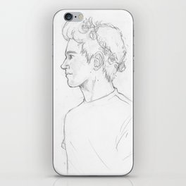 Sketch-Niall iPhone Skin