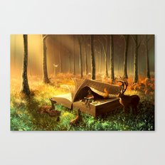 A safe place where you can go Canvas Print