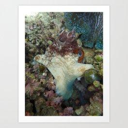 Henry the Octopus Art Print
