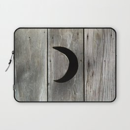 Outhouse Moon Laptop Sleeve