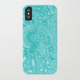 millions aqua iPhone Case