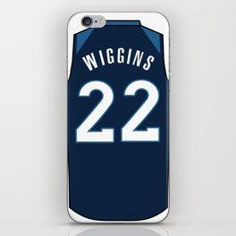 Andrew Wiggisn Jersey iPhone Skin