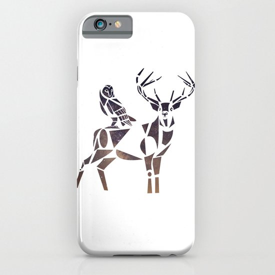 deer & owl iPhone & iPod Case